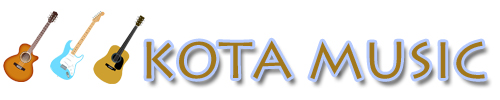 KOTA MUSIC ギター上達の為の教材販売とブログのサイト
