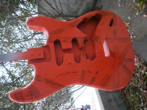 エレキギターEVH [ヴァン ヘイレン]FRANKENSTEIN Replica 2007