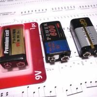 9Vバッテリー