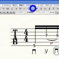finale TAB譜 ギター 奏法