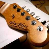tone blue TB guitars ストラト MOD