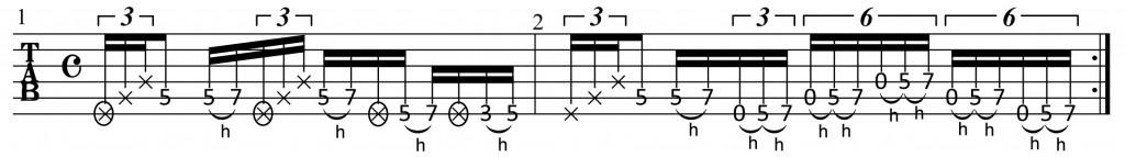 スラップ,サムピング,ベース,ギター,エレキ,アコギ,プル,ゴーストノート,ノイズ,リズム,フレーズ,トレーニング,やり方,弾き方,方法,練習,レッスン