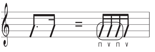 リズム感,トレーニング,レッスン,ギター,エレキ,アコギ,音符,3連符,16分音符,長さ,弾き方,取り方,弾き方