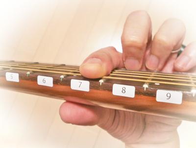 ワンフィンガー奏法 music 譜面 楽譜